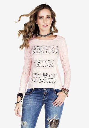 LANGARM - Long sleeved top - pink
