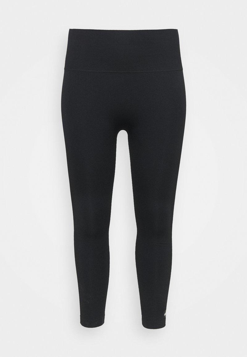 adidas Performance - SCULPT  - Leggings - black