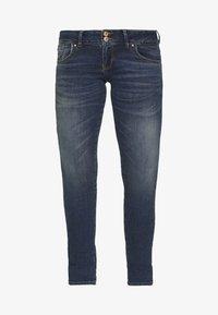 LTB - MOLLY - Slim fit jeans - dark blue denim - 4