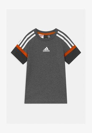BOLD UNISEX - T-shirt print - grey/black