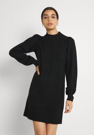 HIGH NECK KNT NOOS - Etuikjole - black