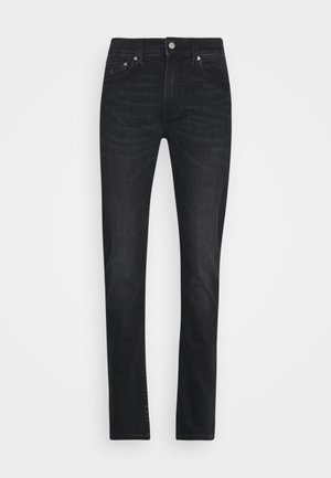SLIM TAPER - Slim fit jeans - dark grey