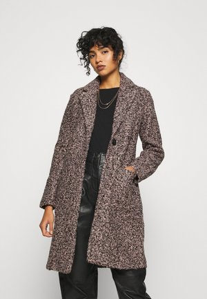 JDYLOOPY COATIGAN - Classic coat - pale dogwood/black naps