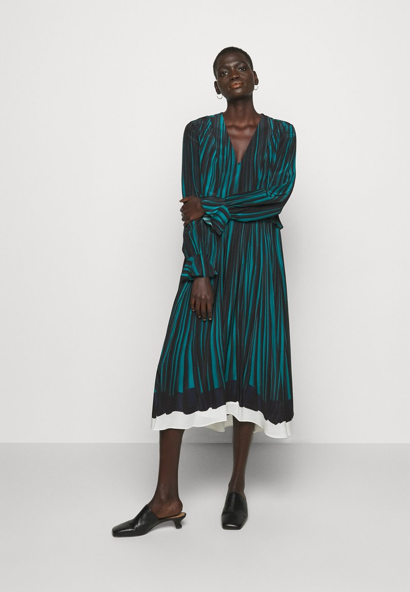 Paul Smith - WOMENS DRESS - Day dress - petrol