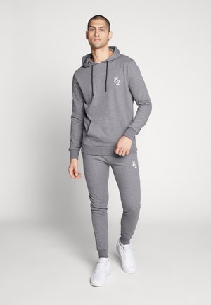 SIGNATURE TRACKSUIT  - Hoodie - charcoal