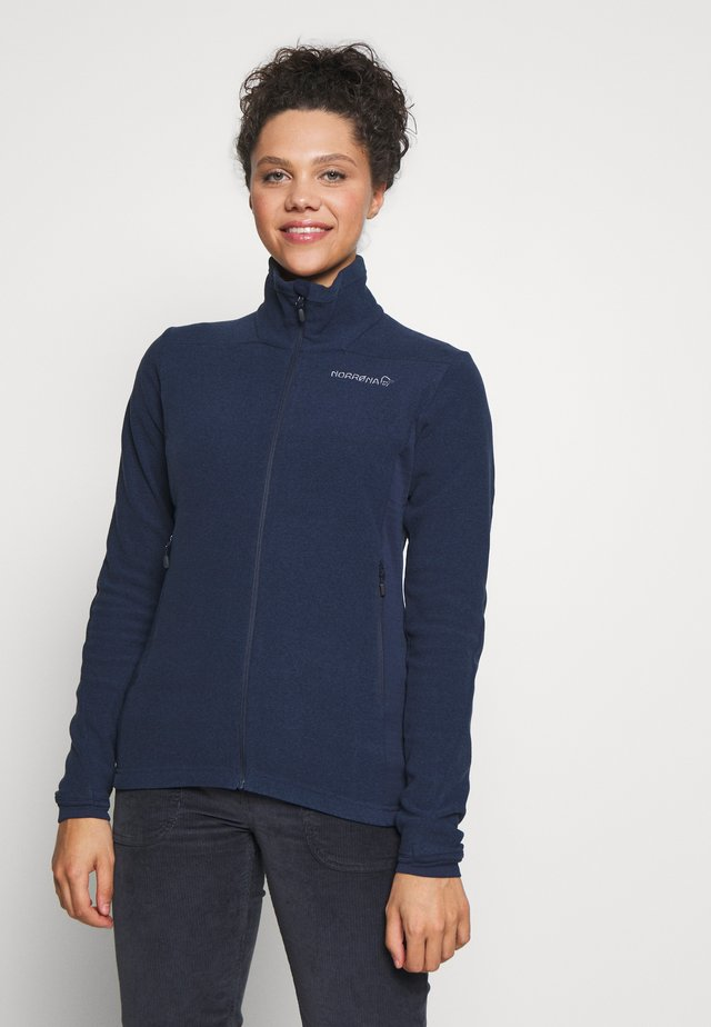 FALKETIND WARM JACKET - Fleecetakki - indigo night