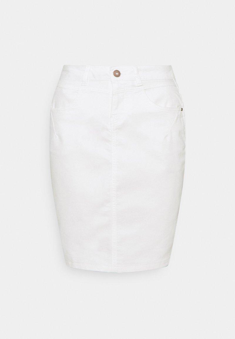 Cream - AMALIE SKIRT - Pencil skirt - snow white