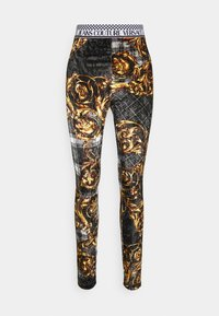 PANTS - Legging - black/gold