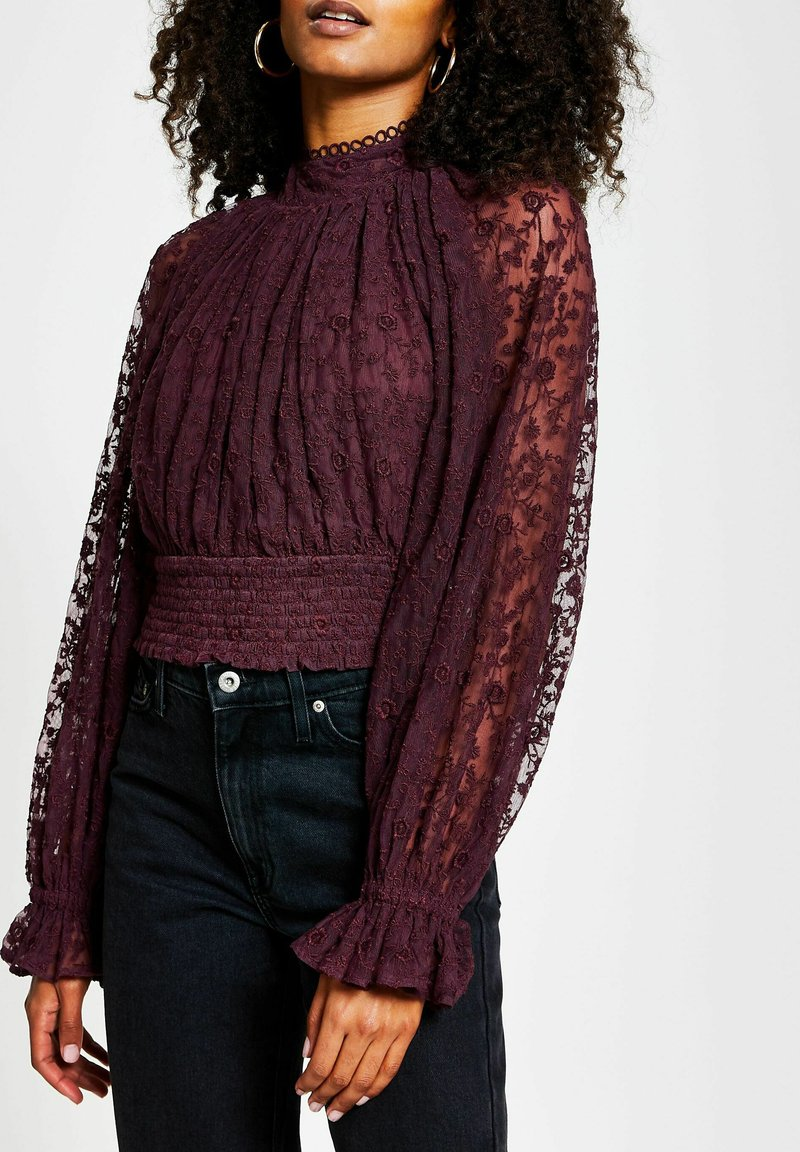 River Island - Blouse - red