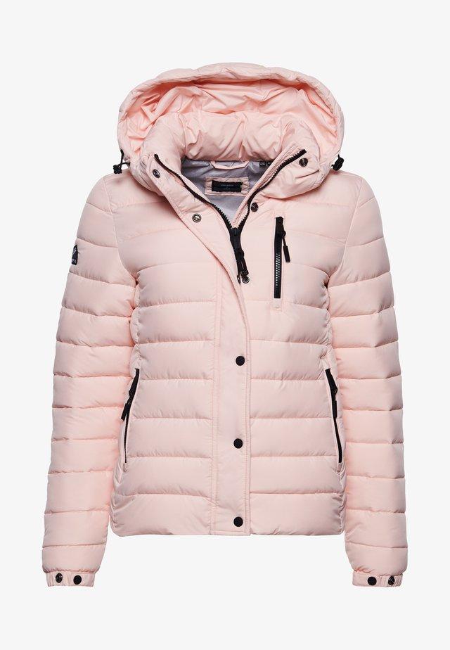 Kurtka zimowa - pink clay