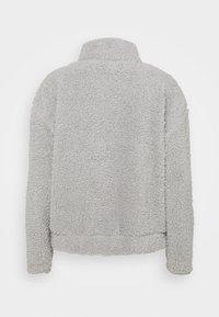 Missguided - BORG HALF ZIP HOODIE JOGGERS - Sweatshirt - grey - 3