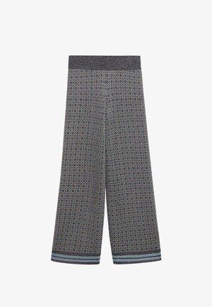 NICO - Kalhoty - himmelblå
