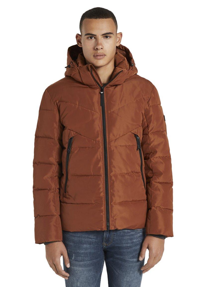TOM TAILOR DENIM - Winter jacket - goji orange