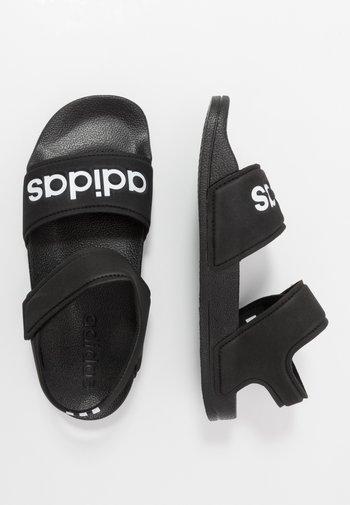 ADILETTE - Pool slides - core black/footwear white