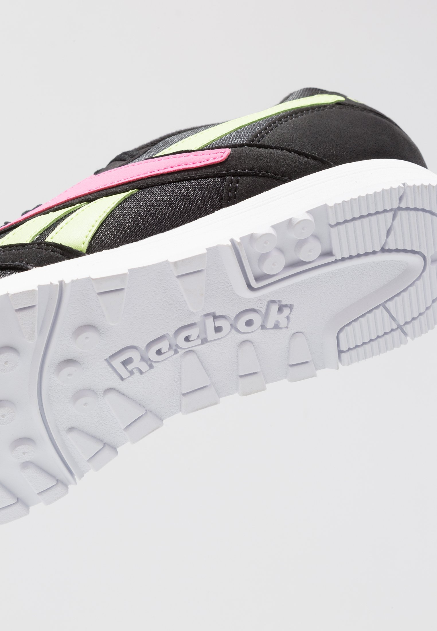 Reebok Classic Rapide - Sneakers Black/white/pink/lime