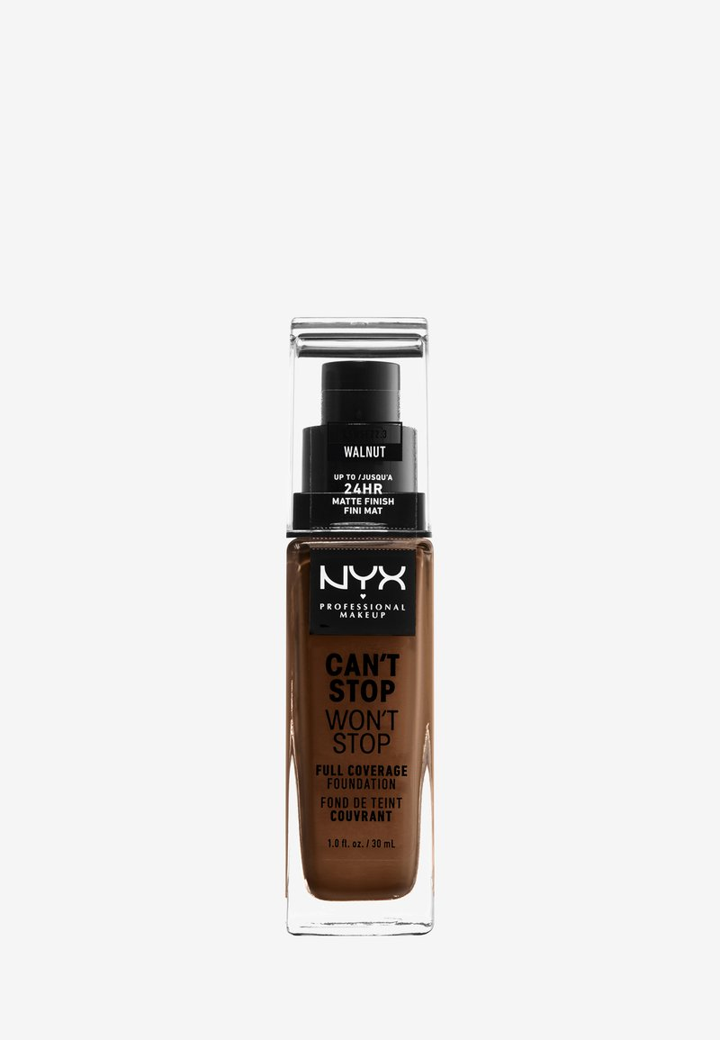 Nyx Professional Makeup - CAN'T STOP WON'T STOP FOUNDATION - Foundation - 22.3 walnut