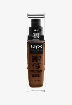 CAN'T STOP WON'T STOP FOUNDATION - Foundation - 22.3 walnut