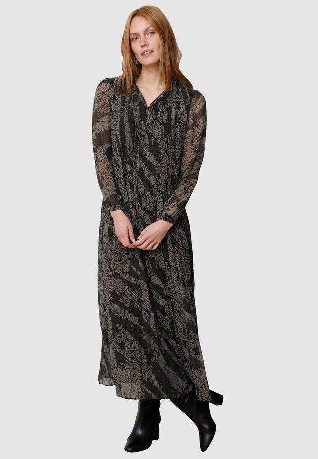 Maxi dress - schilf dunkelgrün