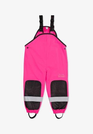 FUNKTIONS-REGENHOSE - Rain trousers - pink