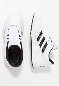 adidas Performance - ALTASPORT - Gym- & träningskor - footwear white/core black - 0