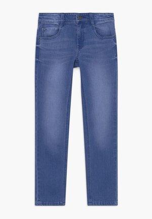 Slim fit jeans - bright blue denim
