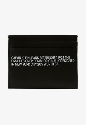 CARDCASE - Peněženka - black