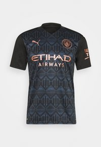 Puma - MANCHESTER CITY AWAY SHIRT REPLICA - Club wear - black/dark denim - 4
