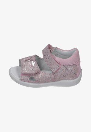 MINILETTE - Walking sandals - blush/silver