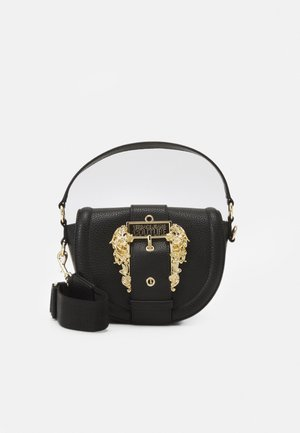 COUTURE ROUND CROSS BODY - Torebka - nero