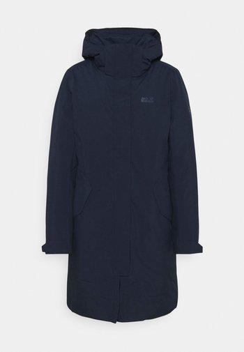 COLD BAY - Kabát zprachového peří - midnight blue