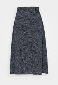 Nümph - NUCOURTNEY SKIRT - Plisovaná sukně - dark sapphire - 6