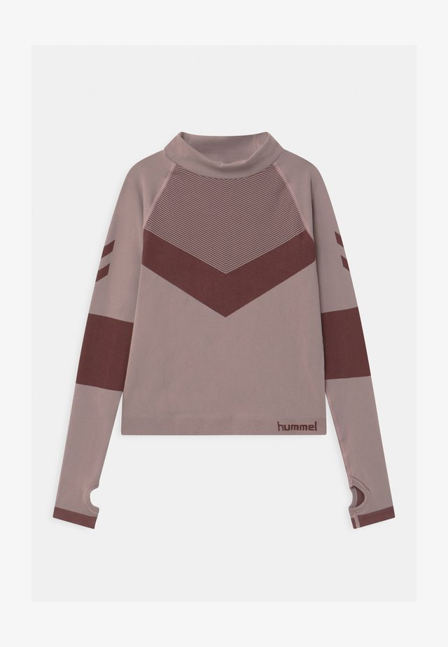 KITH SEAMLESS UNISEX - Long sleeved top - deauville mauve