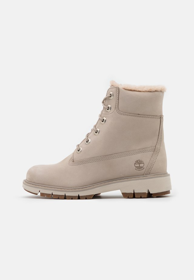 LUCIA IN WARMLINED BOOT WP - Talvisaappaat - light taupe