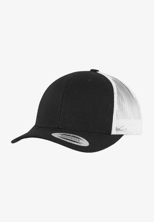 TRUCKER  - Cap - blk/wht