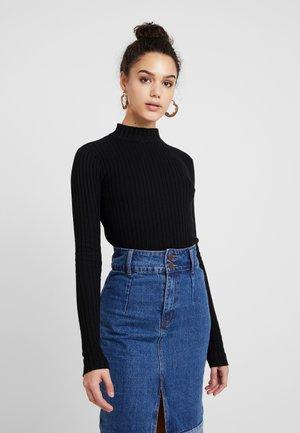 JANNICE JUMPER - Pullover - black