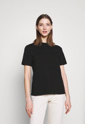 YASSARITA O-NECK TEE  - Basic T-shirt - black