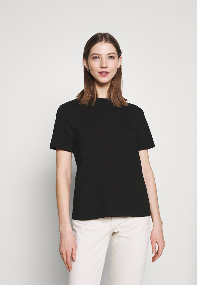 YASSARITA O-NECK TEE  - T-shirt basic - black
