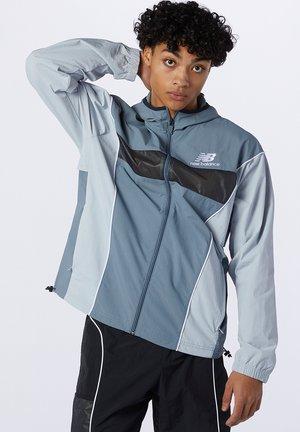 Training jacket - ocean grey