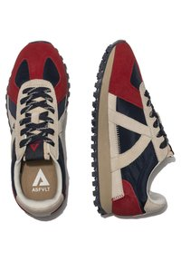 ASFVLT - GATE GAT005 - SNEAKER LOW - Trainers - navy tan red - 3