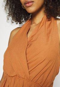 Trendyol - LACIVERT - Day dress - camel - 5