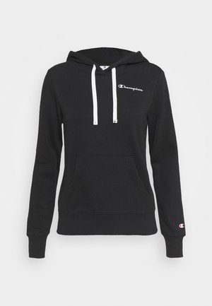 HOODED - Sudadera - black