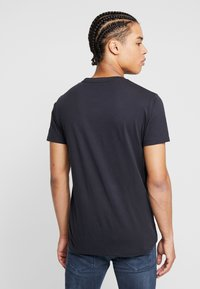 Replay - T-shirt med print - blue grey - 2