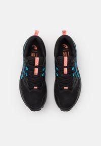ASICS - GEL SONOMA 6 - Trail running shoes - black/digital aqua - 3