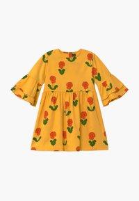 Mini Rodini - VIOLAS FLARED SLEEVE - Shirt dress - yellow - 0