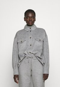 WEEKEND MaxMara - Button-down blouse - light grey - 0