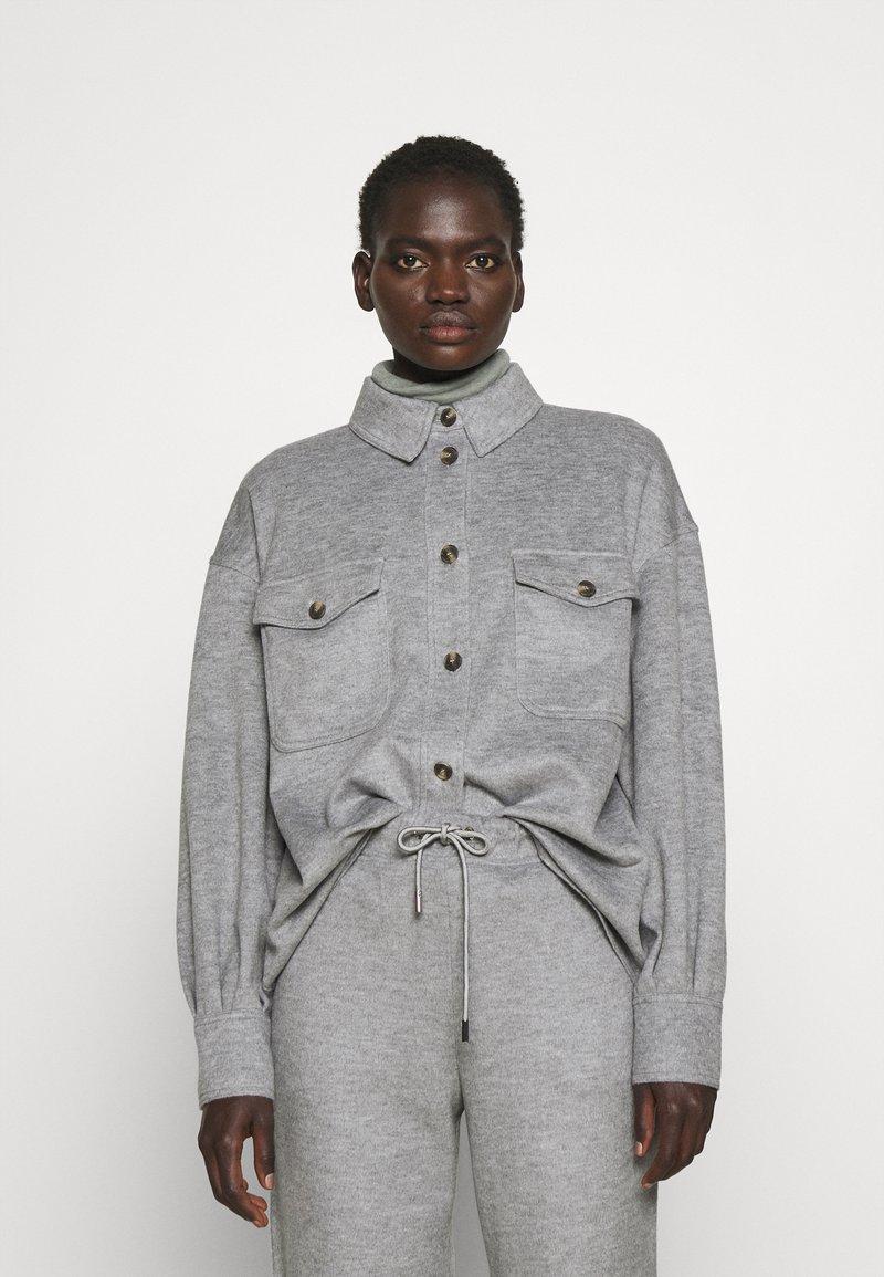 WEEKEND MaxMara - Button-down blouse - light grey