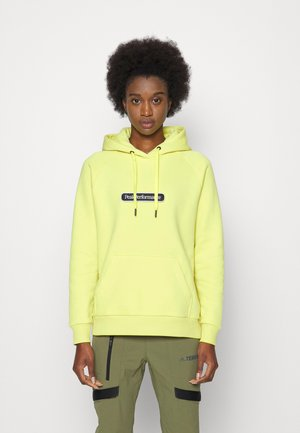 SEASONAL PATCH HOOD - Sweatshirt - citrine