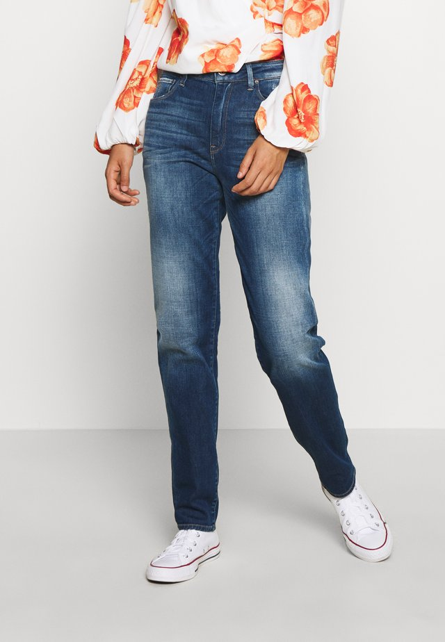 3301 HIGH STRAIGHT 90S ANKLE - Straight leg jeans - faded cobalt