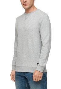 QS by s.Oliver - IM MELANGE-LOOK - Sweatshirt - grey melange - 4