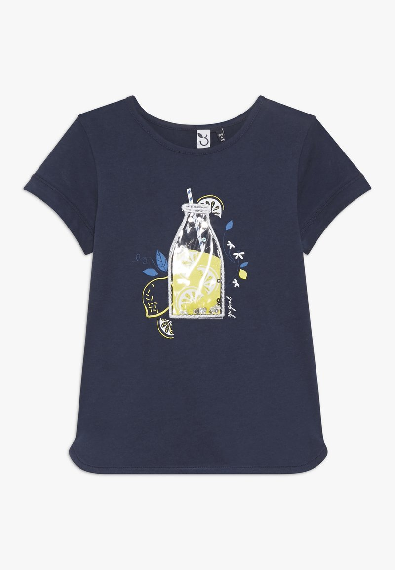 3 Pommes - TEE SHORT SLEEVES - Camiseta estampada - blue night
